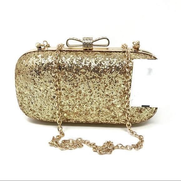 fd3b79e64d37 Inc International Concepts Gold Evie Clutch Bag Boutique